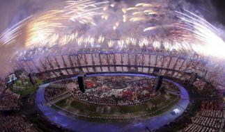 Bei der Eröffnungszeremonie der Olympischen Spiele 2012 in London durfte natürlich auch ein Abschlussfeuerwerk nicht fehlen. (Foto)