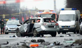 Bei der Explosion einer Autobombe im Berliner Stadtteil Charlottenburg ist ein 43-Jähriger getötet worden. (Foto)