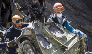 Bei dem Flugzeugabsturz in den französischen Alpen starben am 24. März 2015 alle 150 Menschen an Bord. (Foto)