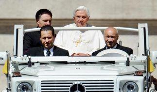 Bei Gabriele (Beifahrer) wurden vertrauliche Dokumente gefunden, die teils direkt vom Schreibtisch des Papstes stammten. (Foto)