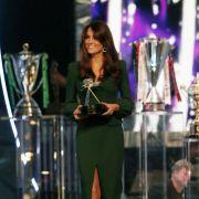 Bei der Gala für die britischen Sportler des Jahres strahlte Kate in einem spektakulären dunkelgrünen Abendkleid.