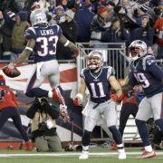 Super Bowl 51: New England und Atlanta erreichen Finale in Houston (Foto)