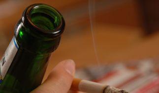 Bei Rauchern verkümmern die Geschmacksknospen auf der Zunge. Ob das Bier dann fad schmeckt? (Foto)
