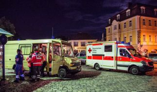 Bei einem Selbstmordanschlag in Ansbach sind am Sonntagabend zwölf Menschen verletzt worden, drei davon schwer. (Foto)