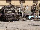 Bei einem Selbstmordattentat in Kabul am Montagabend kamen elf Menschen ums Leben. (Foto)