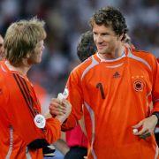 Bei der Weltmeisterschaft 2006 war Oliver Kahn nur noch Nummer zwei hinter Jens Lehmann. (Foto)