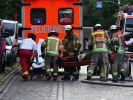 Bei einem Wohnungsbrand in Berlin wurden mehrere Menschen verletzt, eine Frau starb. (Foto)
