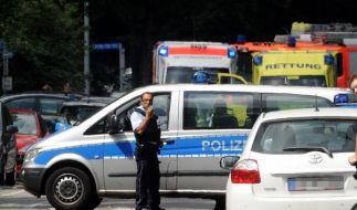 Bei einer Zwangsräumung ist es in Karlsruhe zu einer Schießerei gekommen. (Foto)