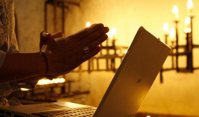 Beichten im Internet (Foto)