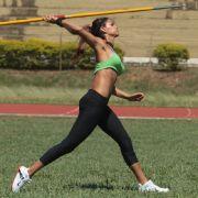 Beim Training in Paraguay: Leryn Franco.