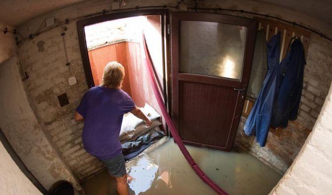 Beim Wassereinbruch erst denken, dann schnell handeln (Foto)