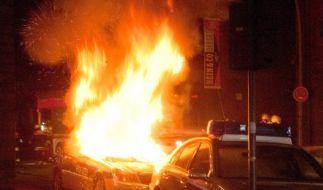 Bekennerschreiben zu Hamburger Brandanschlag (Foto)