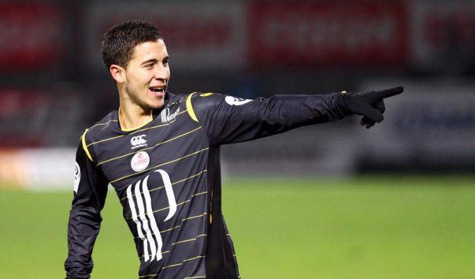 Belgier Hazard Fußballer des Jahres in Frankreich (Foto)
