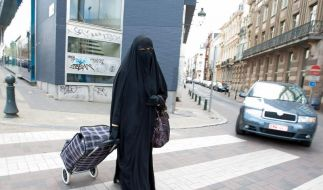 Belgischer Burka-Bann entfacht Debatte (Foto)