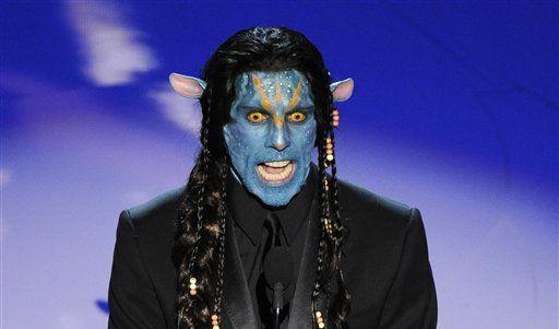 Ben Stiller als einer der Charaktere von Avatar. Es half nichts. Der Fantasie-Film setzte sich nicht (Foto)