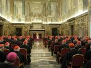 Benedikt verabschiedete sich von seinen Kardinälen. (Foto)