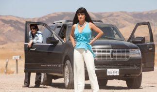 Benicio Del Toro als Lado und Salma Hayek als Elena in dem Kriminalfilm Savages von Oliver Stone. (Foto)