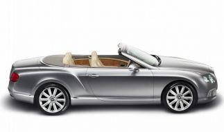 Bentley Continental ab Winter wieder als Cabrio (Foto)