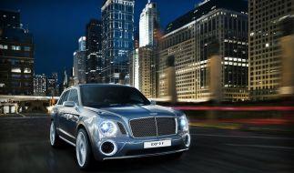 Bentley-Studie: Vorgeschmack auf luxuriösen SUV-Riesen (Foto)