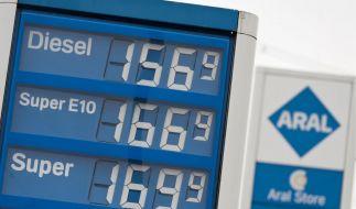 Benzinpreise auf Rekordniveau (Foto)