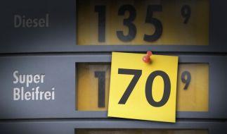 Benzinpreise (Foto)