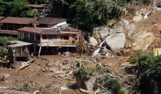 Bereits 52 Unwetter-Tote in Rio de Janeiro (Foto)