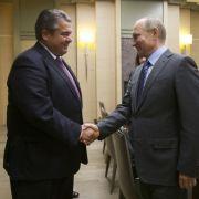 Außenminister Gabriel schickt Drohungen nach Russland (Foto)