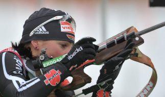 Berger gewinnt Sprint vor Henkel und Neuner (Foto)