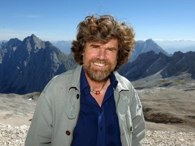 Bergsteiger Messner