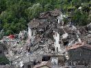 Bilder der Zerstörung am 24.08.2016