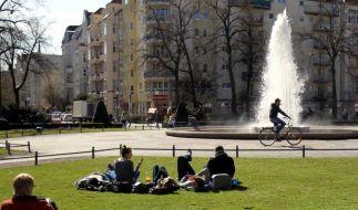 Berlins Brunnen sprudeln wieder (Foto)