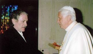 Bernie McDaid offenbarte sich Papst Benedikt XVI. bei dessen Besuch in Washington im April 2008. (Foto)