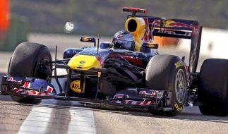 Bestzeit für Vettel  (Foto)
