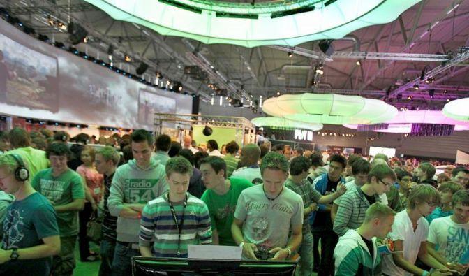 Besucheransturm bei der Gamescom (Foto)