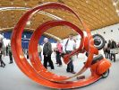 Besucherrekord bei Karlsruher Kunstmesse (Foto)