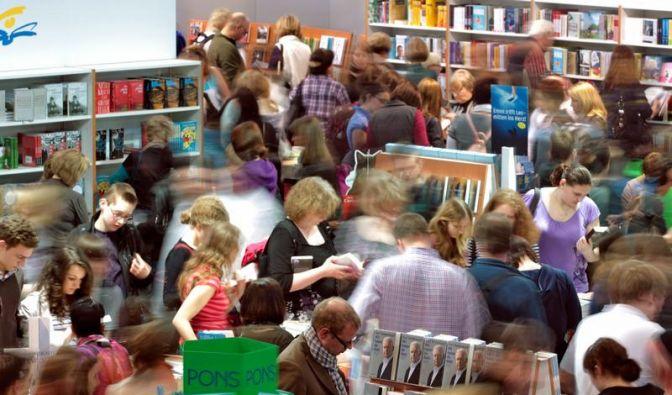 Besucherrekord bei Leipziger Buchmesse (Foto)