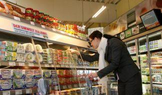 Betrug im Supermarkt (Foto)