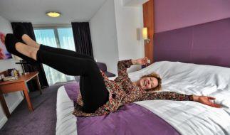 Betten testen (Foto)