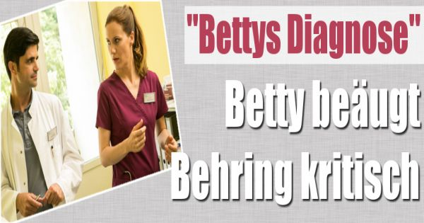Bettys diagnose in der zdf wiederholung die neue folge for Bettys diagnose