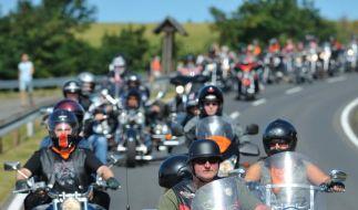 Beziehung auf Dauer: Motorräder und Biker immer älter (Foto)