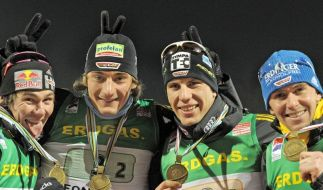 Biathleten haben olympische Hoffnungen geweckt (Foto)