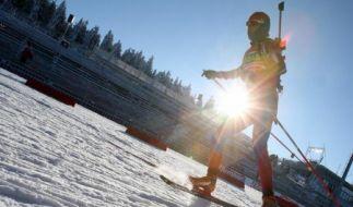 Biathleten mit hohen Zielen in Oberhof (Foto)