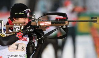 Biathlon-Team Dritter in Oberhof (Foto)