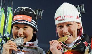Biathlon-WM (Foto)