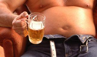 Bierbauch galt mal als sexy, das ist aber lange her. (Foto)