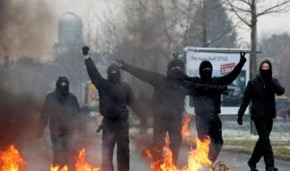 «Bild»: Zahl linker Gewalttaten 2011 deutlich gestiegen (Foto)