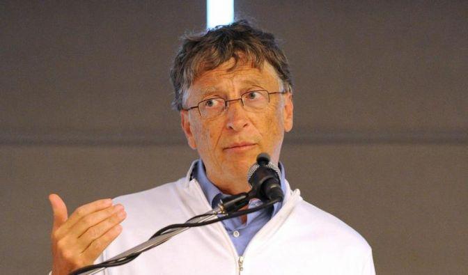 Bill Gates kümmert sich um Toiletten (Foto)