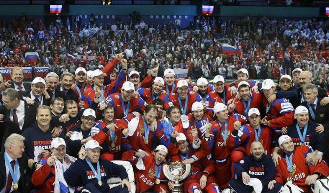 «BILL-issimo»: Russland feiert seine Weltmeister (Foto)