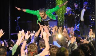 Bill Kaulitz bei GNTM (Foto)