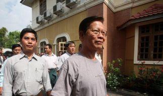 Birma bestätigt: 302 politische Häftlinge freigelassen (Foto)